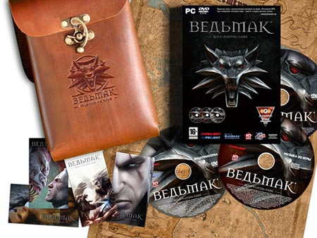 Ведьмак(The Witcher)/добавлен Ведьмак - Дополненное Издание / Witcher - The Enhanced Edition (2008/RUS/RePack)
